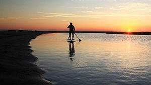 Stop No. 21 | Paddleboard your way through Outer Banks scenery